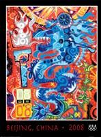 Olympic Dragon (Beijing, China, 2008) Fine Art Print
