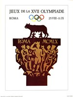 Rome, 1970 (Olympic Games) Fine Art Print