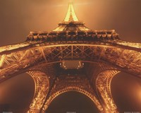 Beneath the Eiffel Tower Fine Art Print