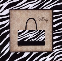 Flirty Framed Print