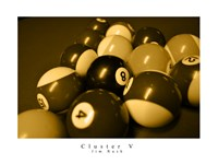 Cluster V Framed Print