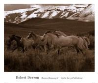 Horses Running I Fine Art Print
