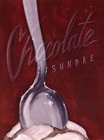 Chocolate Sundae Fine Art Print