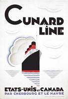 Cunard Line - Canada Fine Art Print