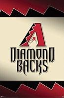 Arizona Diamondbacks - Logo 2009 Wall Poster