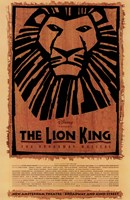The Lion King (Broadway) Framed Print