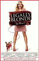 Legally Blonde - The Musical (Broadway) Fine Art Print