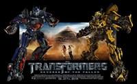 Transformers 2: Revenge of the Fallen - style D Fine Art Print