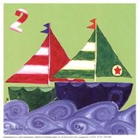 Two Ships Fine Art Print