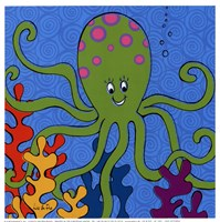 Olly Octopus Framed Print