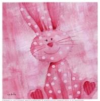 Bouncing Bunny Fine Art Print