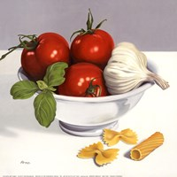 Italian Cooking Fine Art Print
