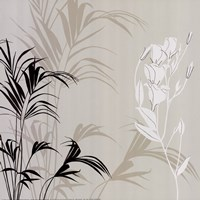 White Flower Fern Fine Art Print