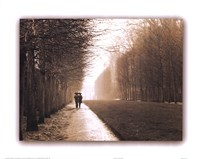 Park at Versailles Framed Print
