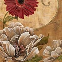 Floral Aura I Framed Print