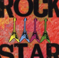 Rock Star Fine Art Print