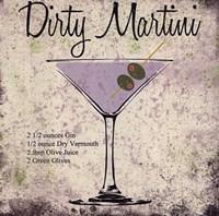 Dirty Martini Framed Print