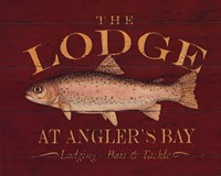 The Lodge Fine Art Print