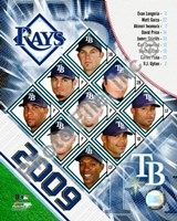 2009 Tampa Bay Rays Team Composite Fine Art Print