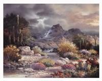 Springtime Valley Fine Art Print