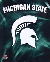 Michigan State University Spartans Logo Fine Art Print
