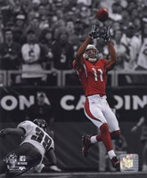Larry Fitzgerald 2009 In the Spotlight Action Fine Art Print
