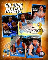 "2009 Finals - Magic ""Big 5"" Fine Art Print"