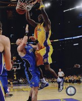 Lamar Odom Game One of the 2009 NBA Finals  (#4) Fine Art Print