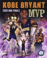 Kobe Bryant -'09 Finals MVP Comp. (#34) Fine Art Print