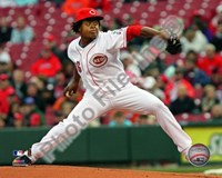 Edinson Volquez - 2009 Pitching Action Fine Art Print