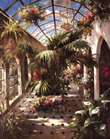 Garden Atrium ll Framed Print