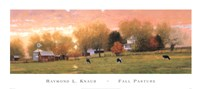 Fall Pasture Framed Print