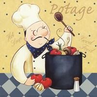 Soup Chef Fine Art Print