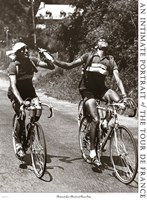 Archrivals Gino Bartali and Fausto Coppi Fine Art Print