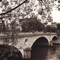 Pont Louis-Philippe, Paris Framed Print