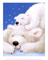 Fluffy Bears II Fine Art Print