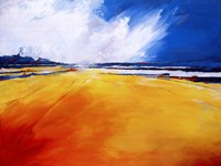 Glyns Beach Framed Print