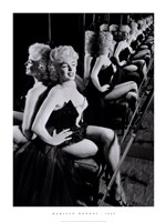 Marilyn Monroe, March 25, 1955 Framed Print