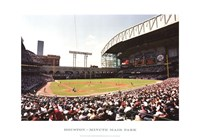 Houston, Minute Maid Park Fine Art Print