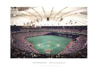 Metrodome, Minneapolis Fine Art Print
