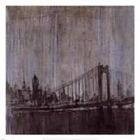 Urban Fog II Framed Print