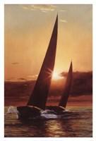 Red Sails Fine Art Print