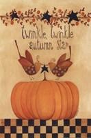 Twinkle, Twinkle Autumn Star Fine Art Print