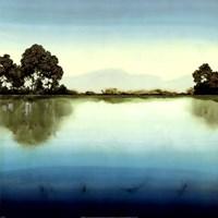 Azure Lake Fine Art Print