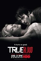 True Blood - Season 2  [Sookie and Bill] Fine Art Print