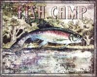 Fish Camp Framed Print
