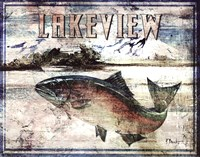 Lakeview Fine Art Print