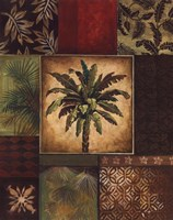 Palm Collage II Framed Print