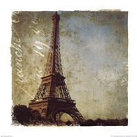 Golden Age of Paris I Fine Art Print