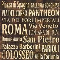 Roma Framed Print